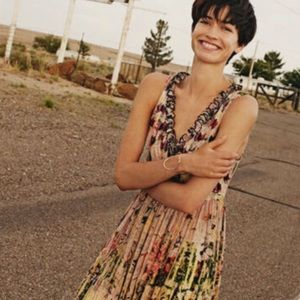 Anthropologie Bhanuni Cydney Tiered Beaded  dress8